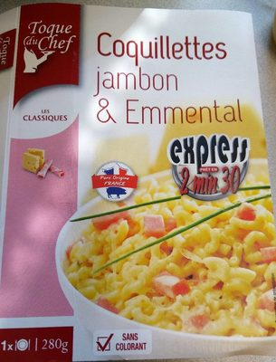 Coquillettes jambon et Emmental - Product - fr