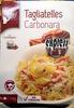 Tagliatelles Carbonara - Produit