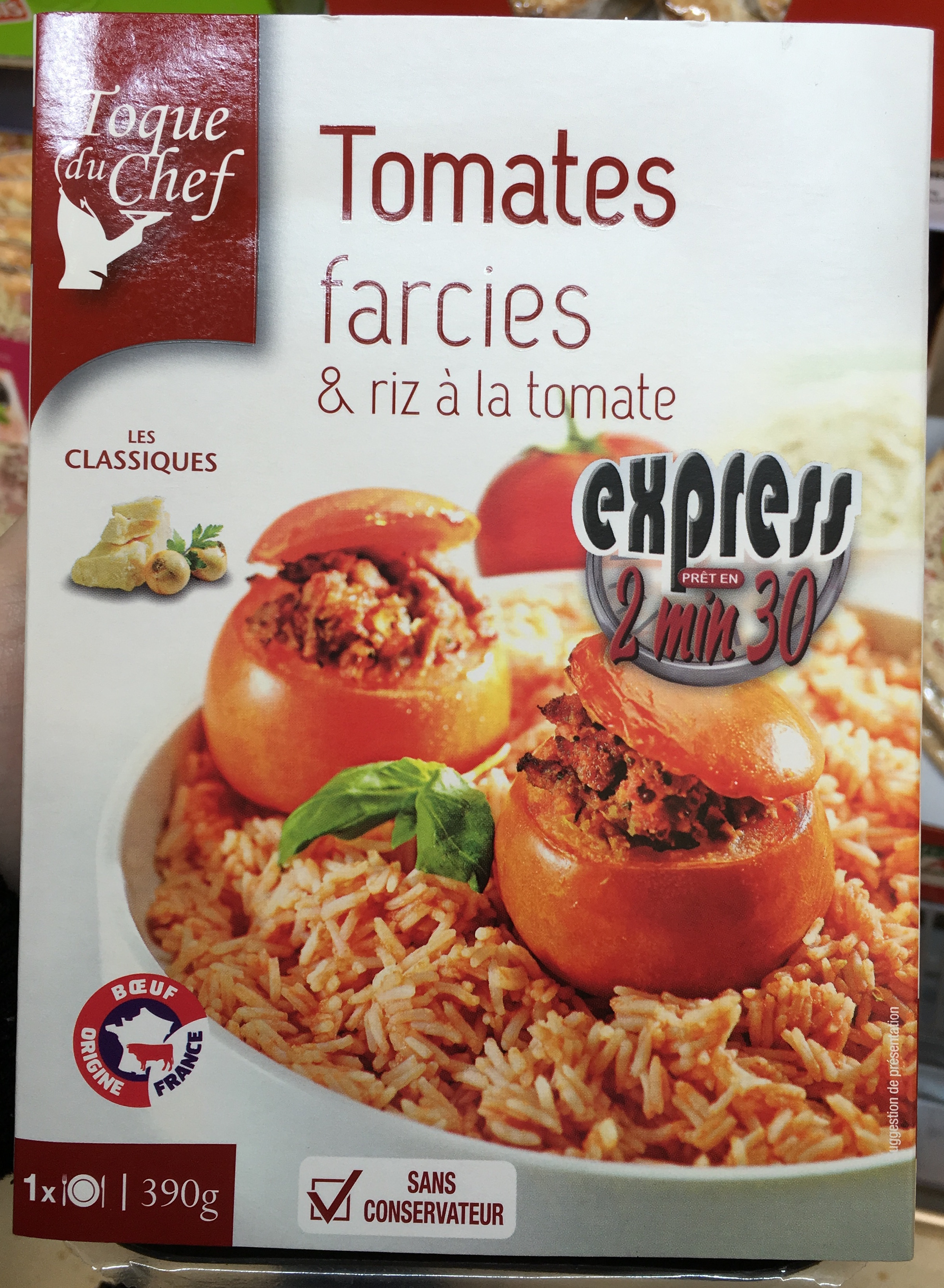 Tomates farcies & riz à la tomate Express - Produit