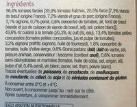 Tomates farcies & riz à la tomate Express - Ingrédients