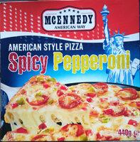 American Style Pizza Peperoni-salami - Produit