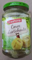 Coeurs d'artichauts 6-8 coeurs - Product