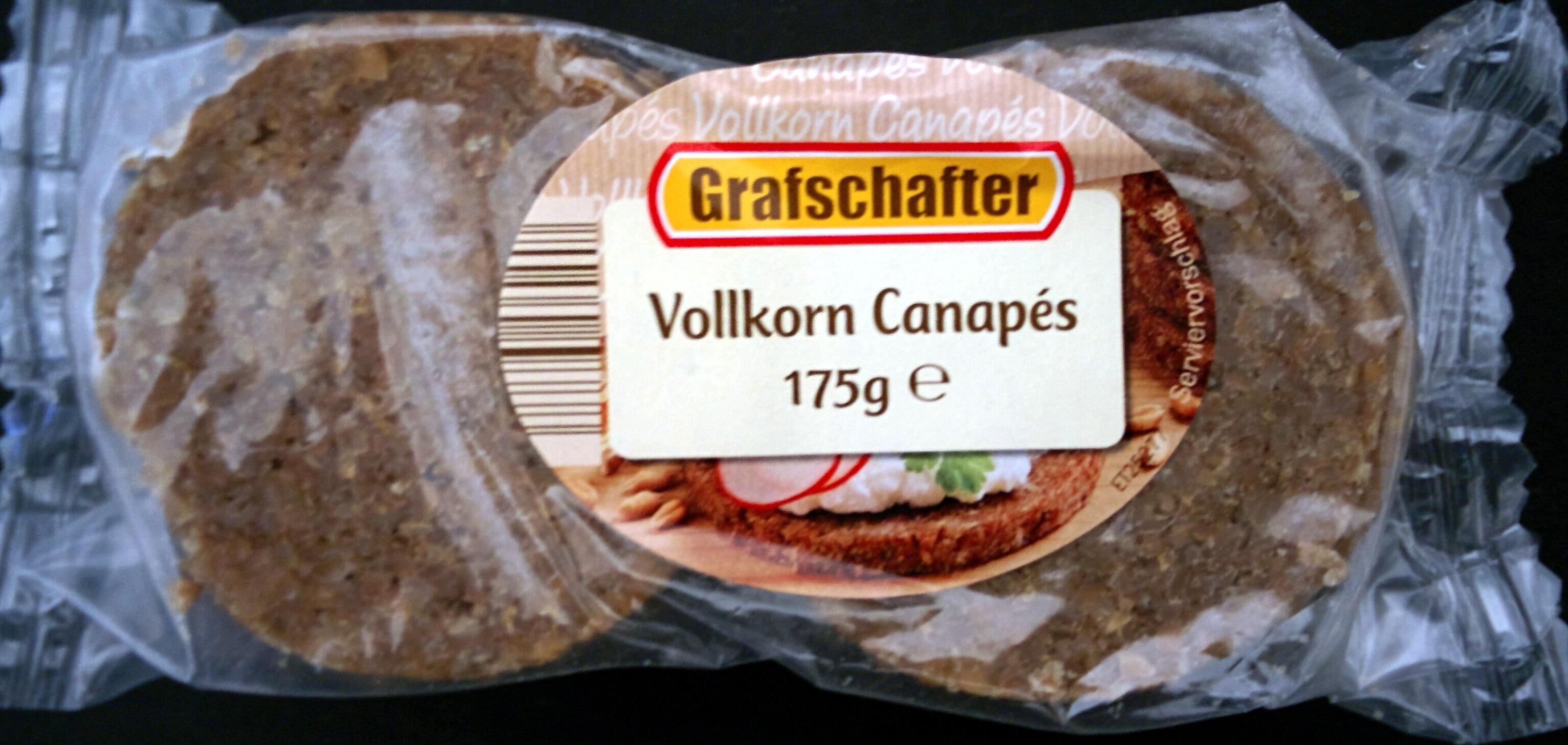 Vollkorn Canapés - Product - de