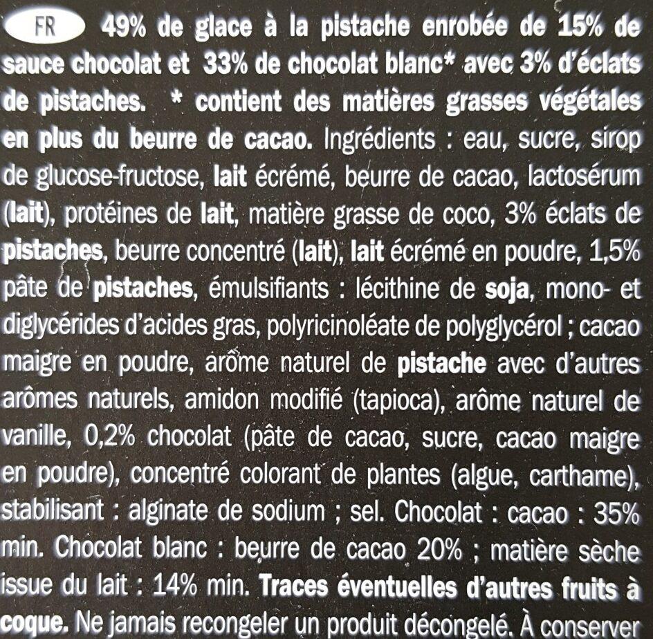 Gelatelli Pistazie Eis - Ingrediënten - fr