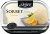 Sorbet au citron premium lemon flavor sorbet, sorbet au citron - Product