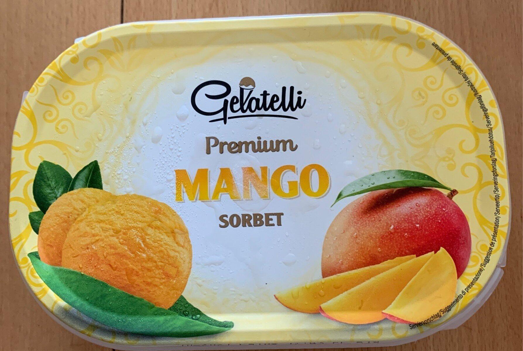 Premium Mango Sorbet - Producto