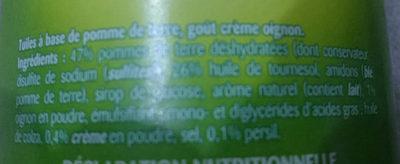 Saveur Sour Cream & Onion - Ingrediënten