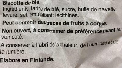Petits pains suédois - Ingrédients - fr