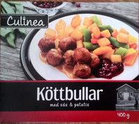 Culinea Köttbullar med sås & potatis - Produit