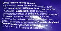 Polvo especial pasta - Ingredients - es