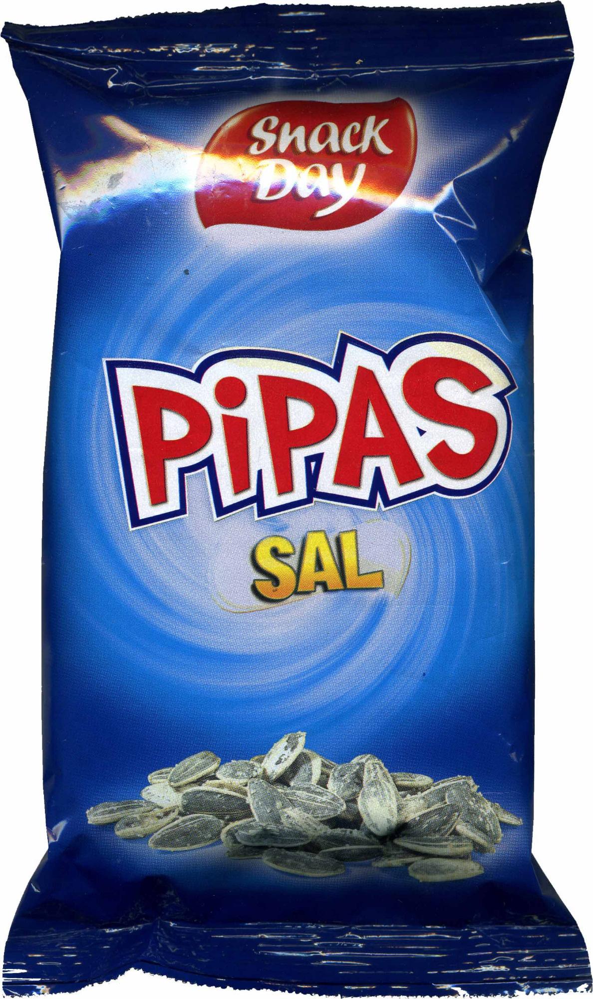 Pipas de girasol con sal - Producto - es