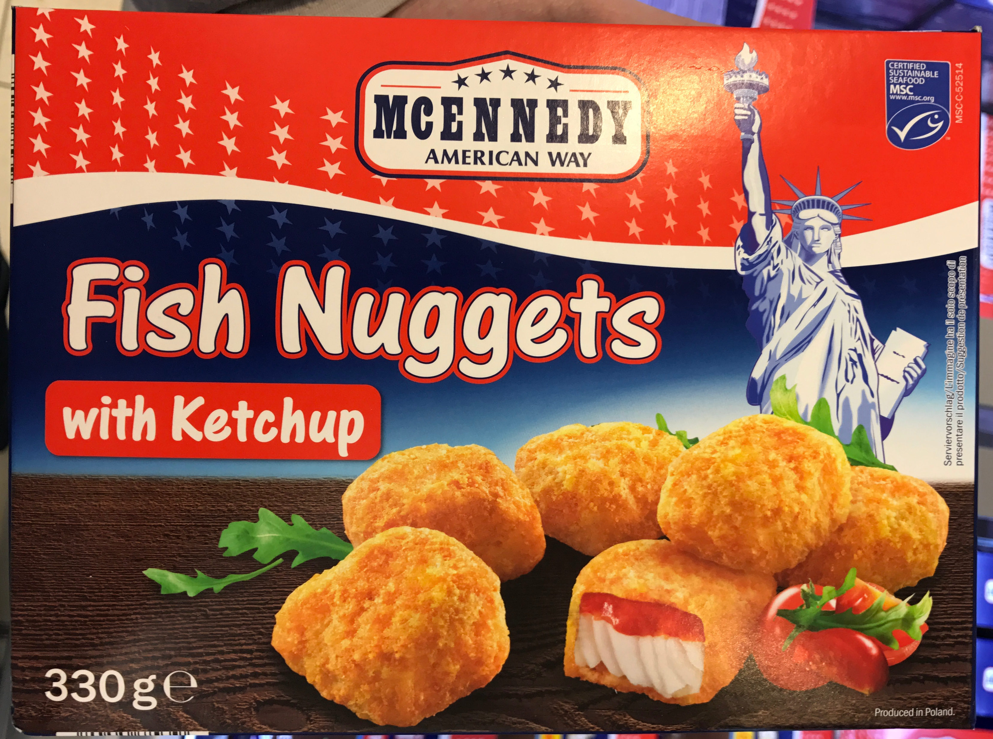 Fish Nuggets with Ketchup - Product