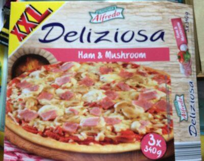 Pizza Deliziosa Schinken-Champignon - Produit - fr