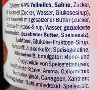 Mousse au caramel - Ingredients - fr