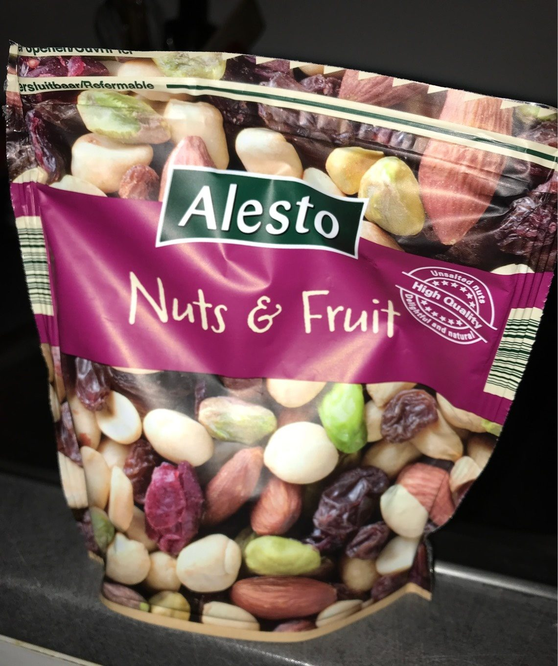 Nuts & Fruit - Producto