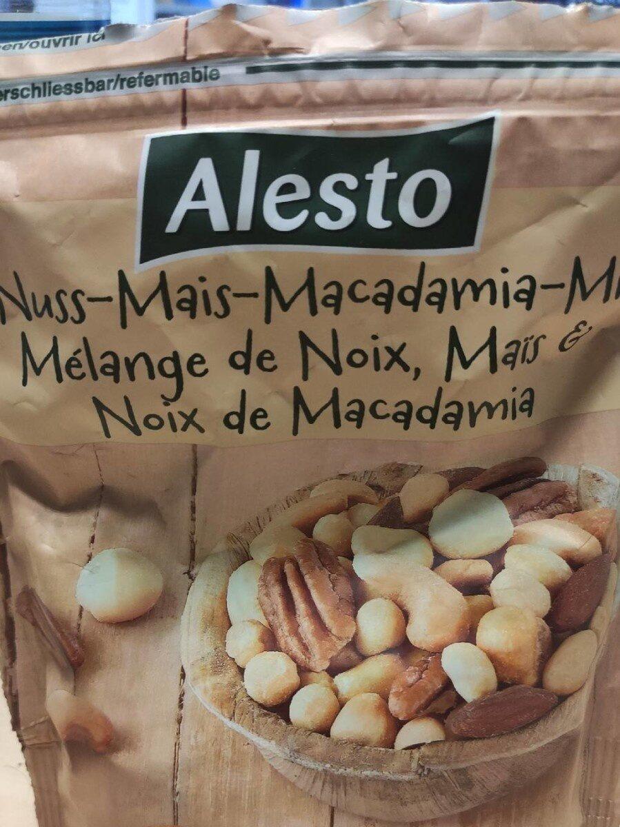 Mélange de noix maïs et noix de macadamia - Produit - fr
