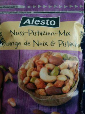 Mélange de noix et pistaches - Informations nutritionnelles