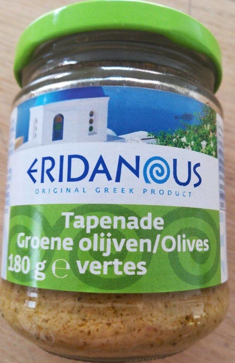 Tapenade groene olijven - Producto - es