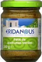 Paté de aceitunas verdes - Producto