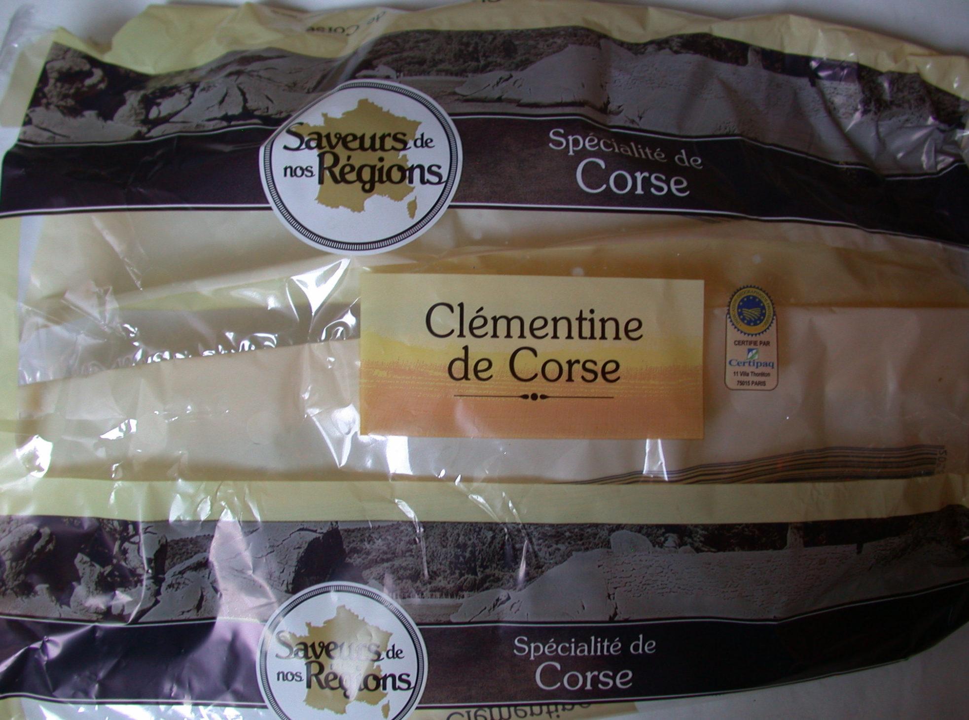 Clémentines de Corse - Product - fr