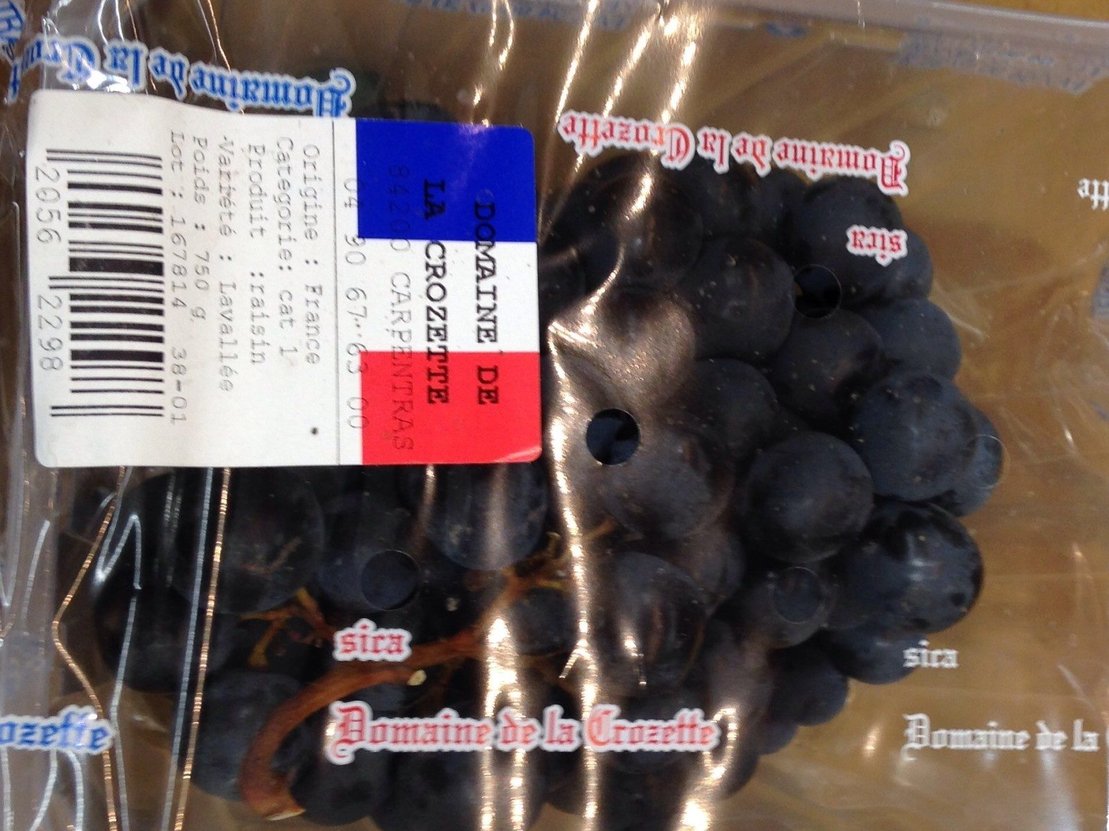 Raisin noire - Product