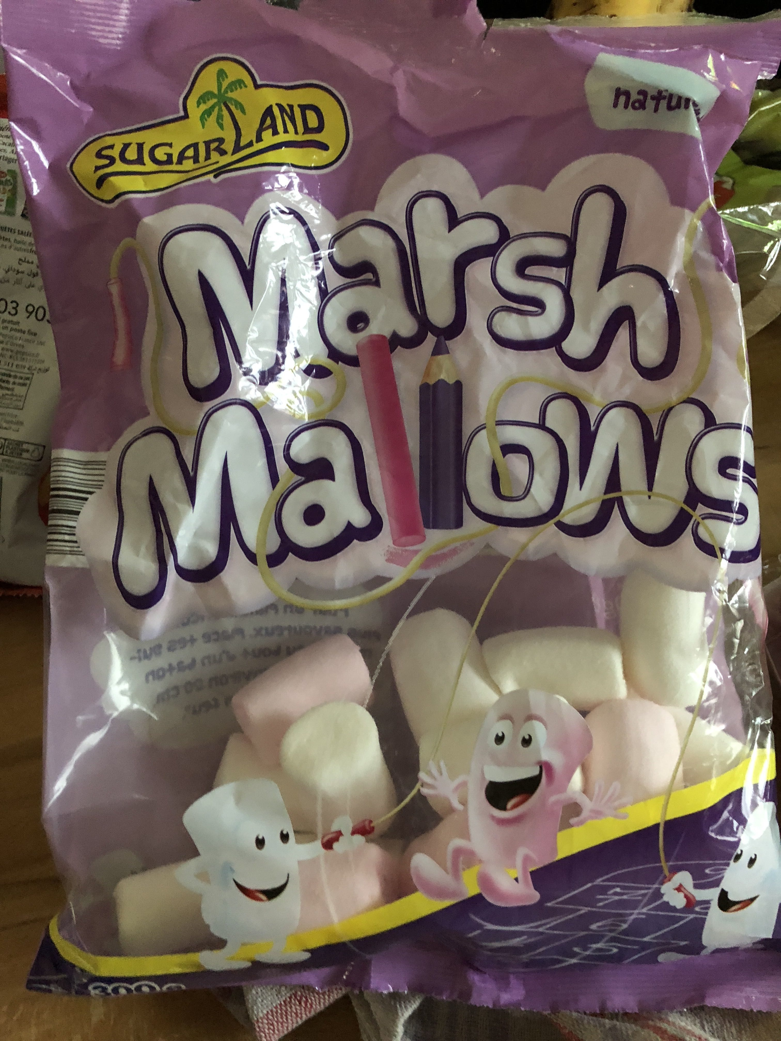 marshmallow ingredienten