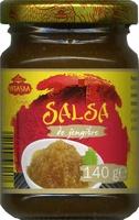 Salsa de jengibre - Producte