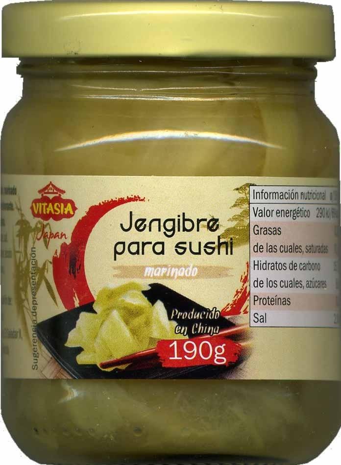 Jengibre encurtido - Produit
