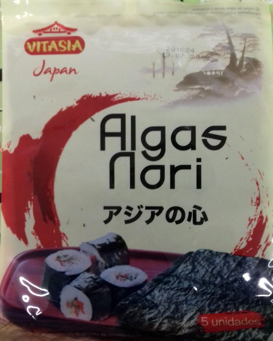 Algas nori - Producte - es