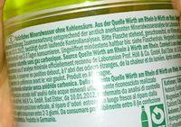 Mineralwasser still 6er Pack - Ingredients - en