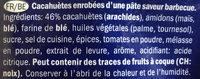 Cruspies barbecue flavour - Ingrédients