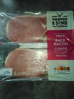 smoked back bacon - 14 rashers - Product