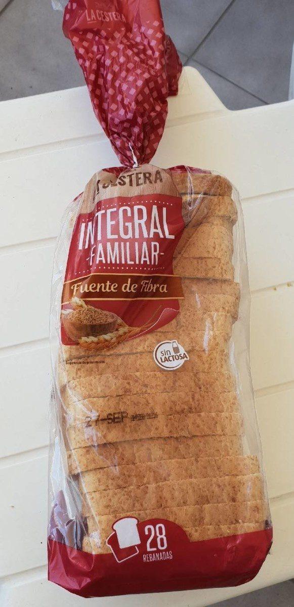 Pan de molde integral de trigo - Produit - fr