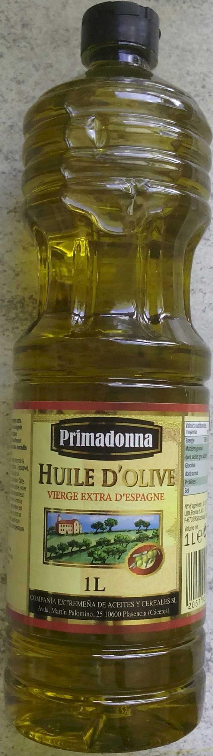 Huile d'olive vierge extra d'Espagne - Produit - fr