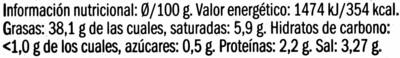 Paté de aceitunas negras de Aragón con cayena - 4