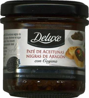 Paté de aceitunas negras de Aragón con cayena - Producte