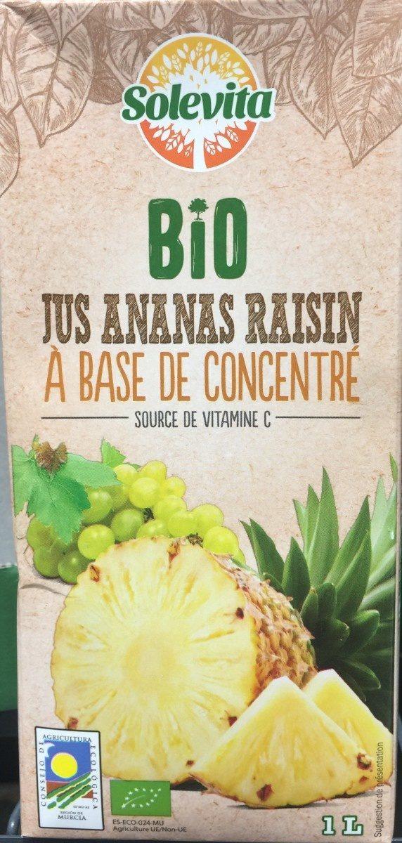 Jus ananas raisinà base de concentré - Produit - fr