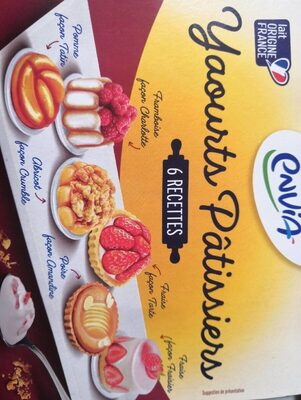Yaourts patissiers - Product - fr