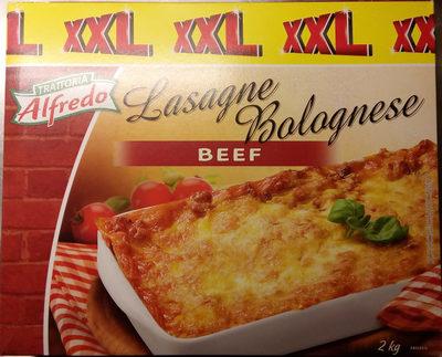 Trattoria Alfredo Lasagne Bolognese Beef - Produit