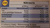 Noblissima Creme Brulee - Informations nutritionnelles - fr