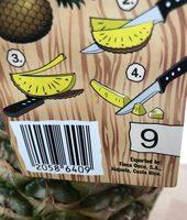 Golden pineapple - Ingrediënten - fr