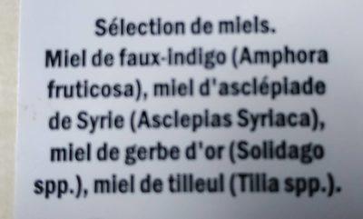 Deluxe miel - Ingredients - fr