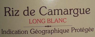 Riz de Camargue long blanc - Ingrediënten
