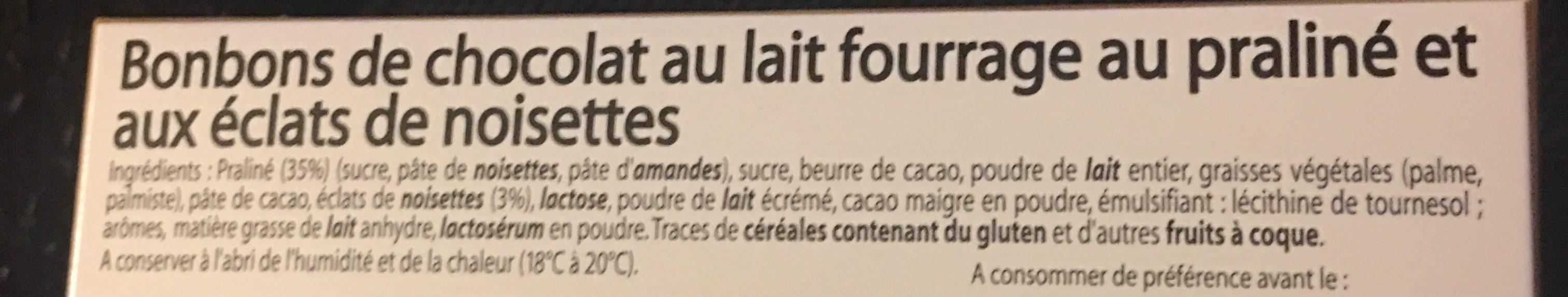 Les escargots - Ingredients