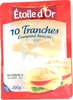 10 tranches Emmental français - Product