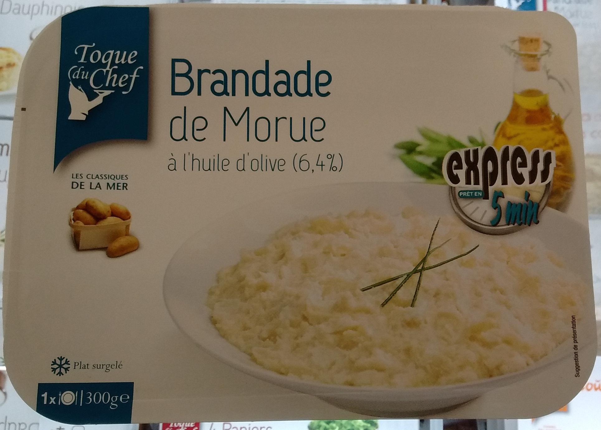 Brandade de Morue parmentière à l'huile d'olive (6,4%) express - Produit - fr