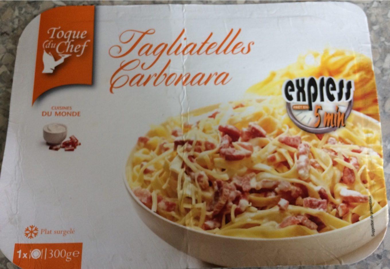 Tagliatelles Carbonara Toque Du Chef 300 G