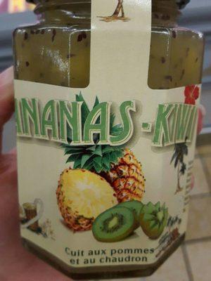 Confiture ananas kiwi - Produit - fr