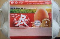 Oeufs frais label rouge - Product