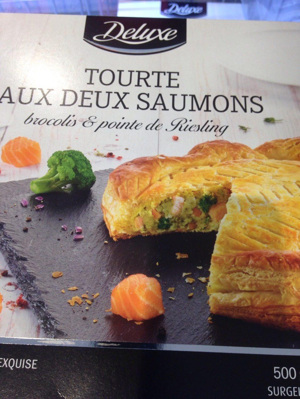 Tourte aux deux saumons - Product - fr